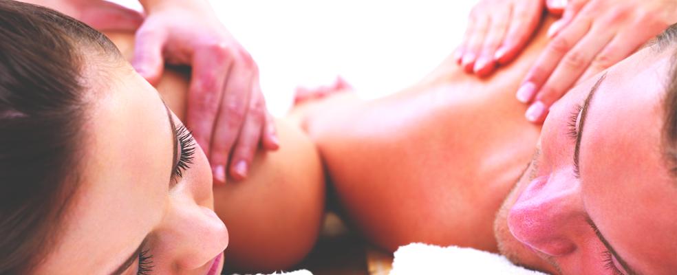 Massagem para Casal no Dia dos Namorados